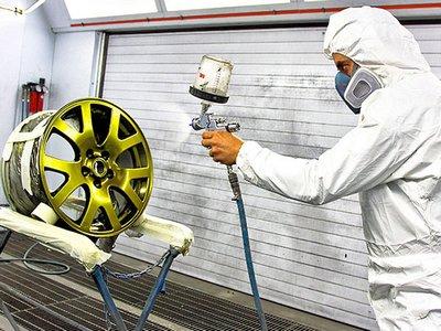Обновление автомобильных дисков с помощью порошковой покраски