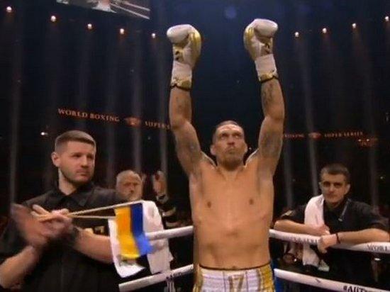 Украинец Усик прокомментировал победу над Бриедисом