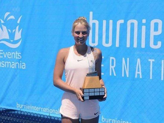 15-летняя украинская теннисистка выиграла второй взрослый титул