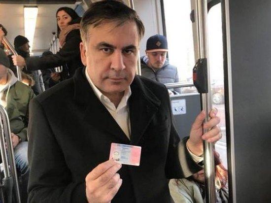 Саакашвили в Нидерландах получил удостоверение личности