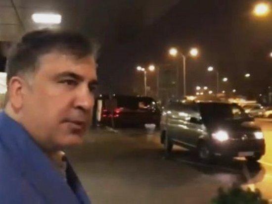 Саакашвили в Варшаве дал комментарий о своих дальнейших шагах (видео)