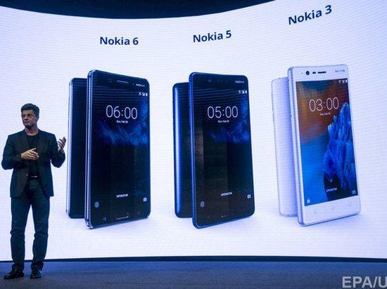 Компания Nokia опередила Google по продажам смартфонов