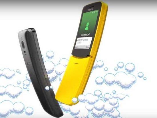 Привет из Матрицы. Nokia возродила модель 8110 из культового фильма