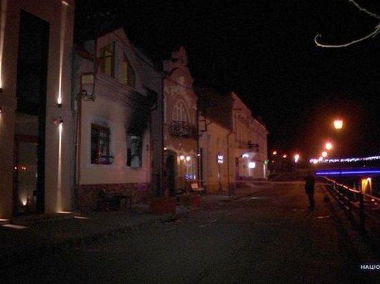 В Ужгороде во второй раз подожгли офис союза венгров