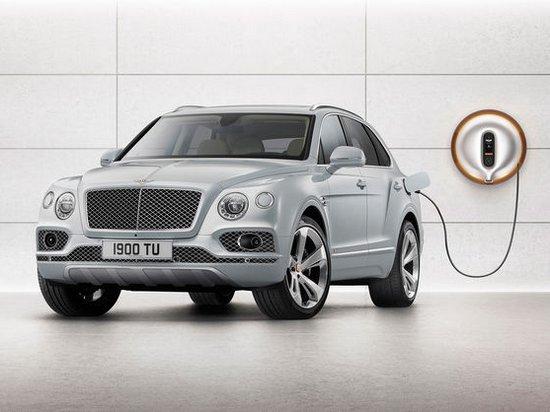 Bentley готовит свой первый гибридный автомобиль