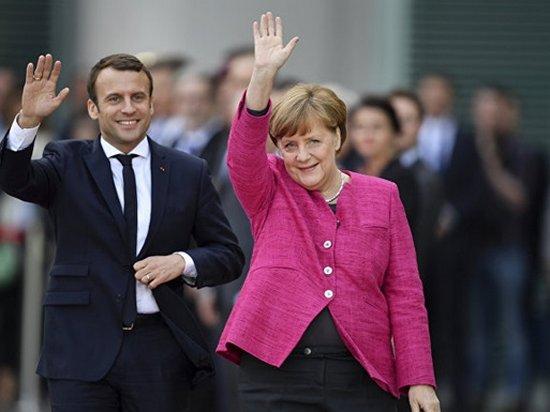 Жители Германии больше доверяют Макрону, чем Меркель