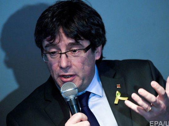 Верховный суд Испании отозвал ордер на арест Пучдемона