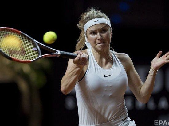 Украинка Свитолина добралась до полуфинала турнира в Канаде