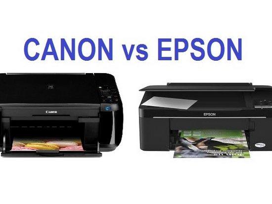 Отличия между чернилам Epson и Canon