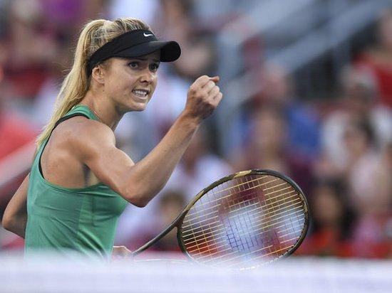 Свитолина победила россиянку на турнире в США