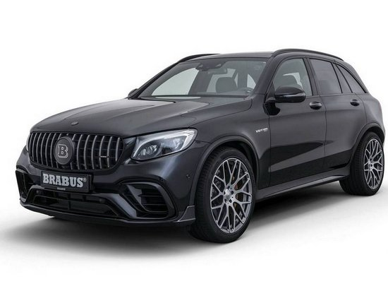 Ателье Brabus выпустило спецверсию компактного кроссовера Mercedes