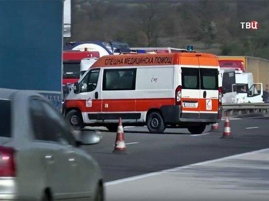 В Болгарии перевернулся автобус с туристами: есть жертвы