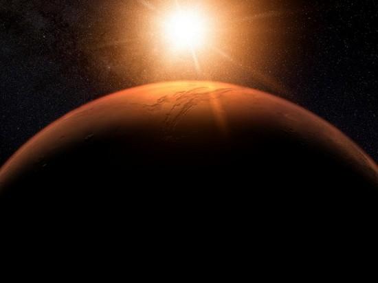 На Марсе обнаружили гигантскую зону жизни