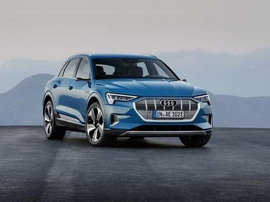 Audi получила более 10 000 предзаказов на электрический кроссовер e-tron
