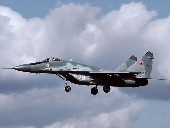 СМИ: В РФ разбился истребитель МиГ-29