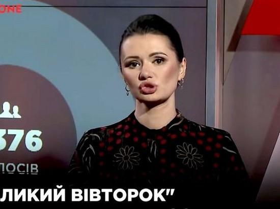В эфире NewsOne разгорелся скандал из-за отказа ведущей перейти на украинский язык