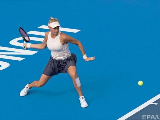 Украинская теннисистка впервые в карьере выиграла турнир WTA