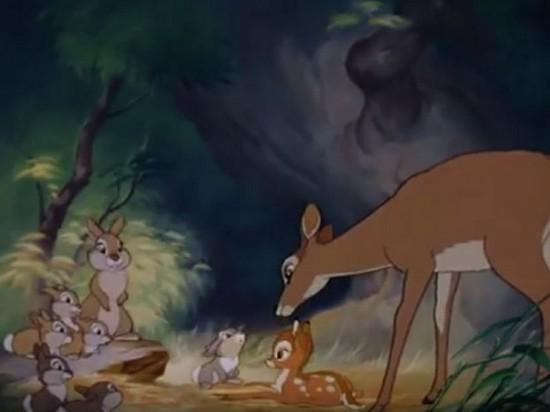 В США суд обязал браконьера каждый месяц пересматривать мультфильм Бэмби