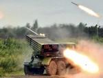 Мариупольцы сняли видео стрельбы «Града» (видео)