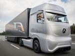 Mercedes-Benz представил видео невероятного грузовика Future Truck 2025 (фото, видео)