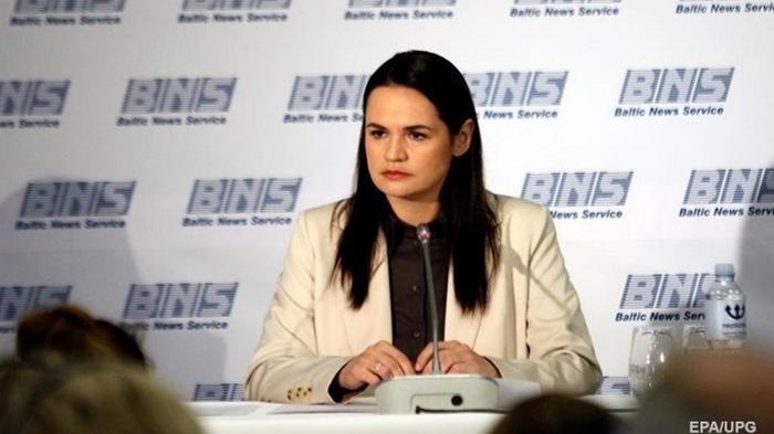 Тихановская: Необходимо менять тактику