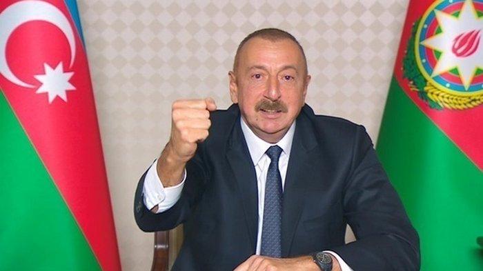 Алиев заявил, что в конфликте в Карабахе поставлена точка