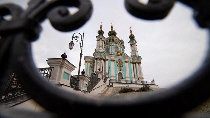 В Киеве спустя пять лет реставрации открывают Андреевскую церковь