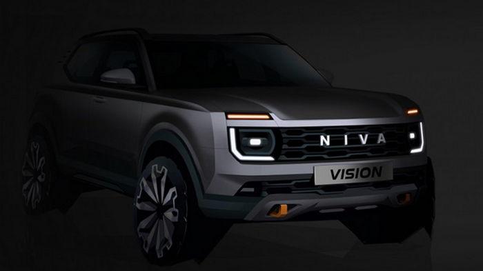АвтоВАЗ показал концепт новой Lada Niva