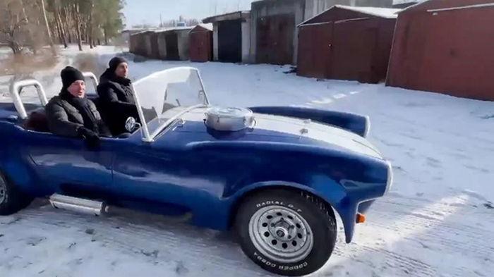 Украинский учитель создал копию культового авто (видео)