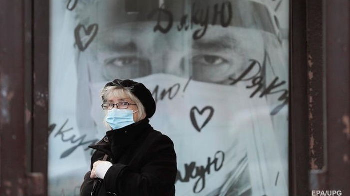 В Украине на треть упал суточный прирост COVID-19