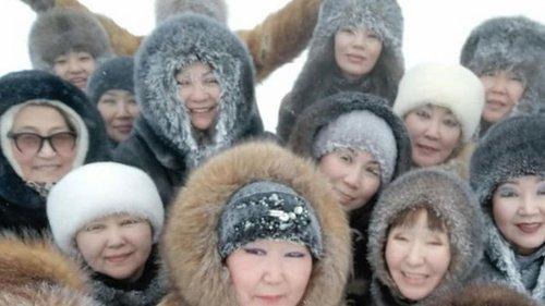 Танцы жительниц Якутии стали хитом в соцсетях (видео)