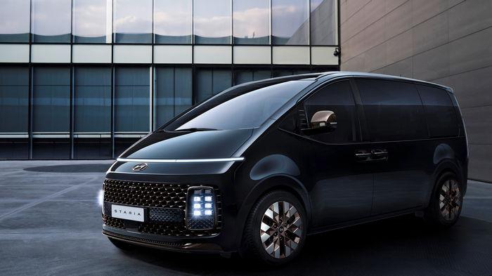 Hyundai представила минивэн, похожий на космический корабль: фото