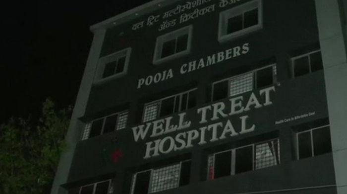 В Индии произошел пожар в COVID-больнице, есть жертвы
