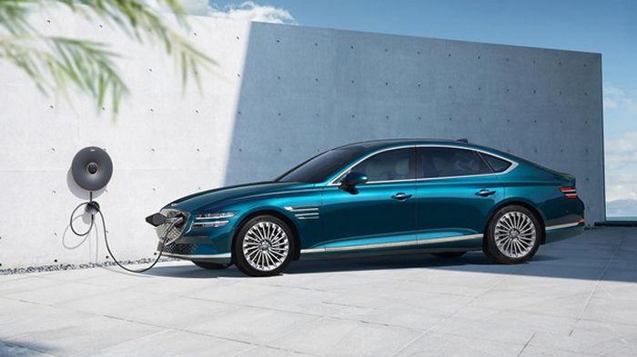 Genesis Motors представил первый электромобиль (фото)