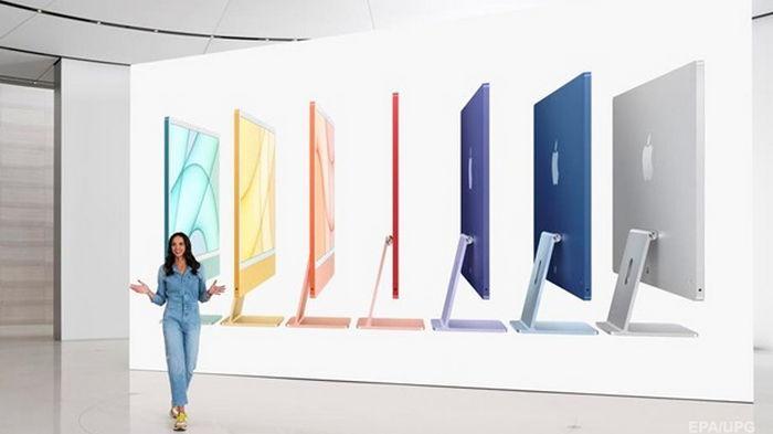Apple представила разноцветные iMac с новым чипом (видео)