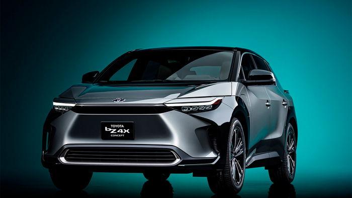 Toyota показала концепт своего первого электрического кроссовера (фото)