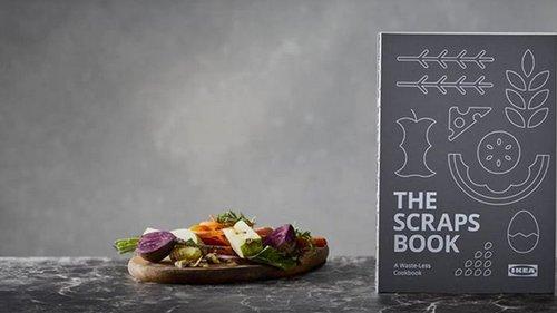 Ikea представила кулинарную книгу с рецептами из остатков пищи (видео)
