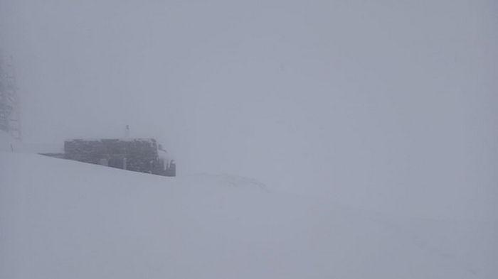 В Карпатах усилился мороз на фоне снегопада