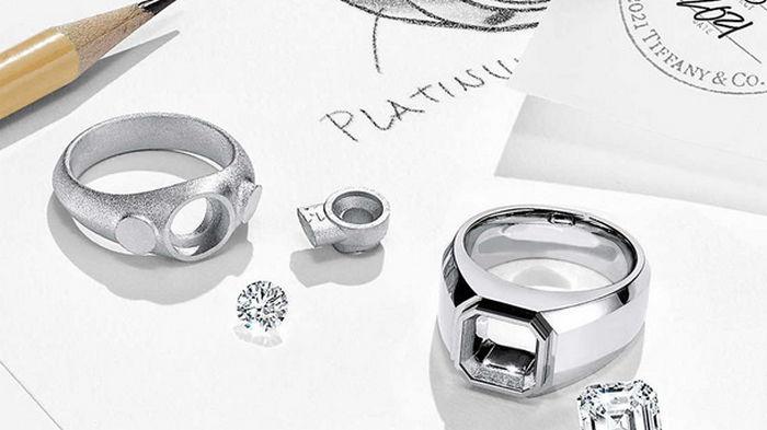 Tiffany представила первую коллекцию обручальных мужских колец (фото)