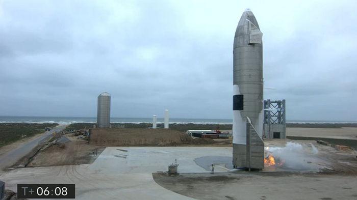 SpaceX провела успешный запуск Starship
