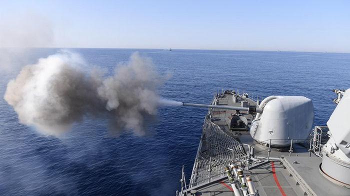 Турция проводит масштабные морские учения