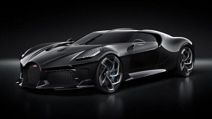 Bugatti вывела на тесты свой самый дорогой автомобиль (фото)