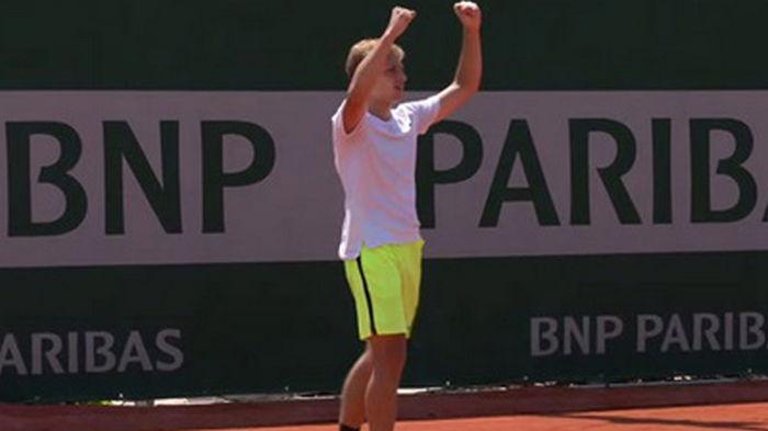 Два украинца вышли в полуфинал парного Ролан Гаррос среди юниоров