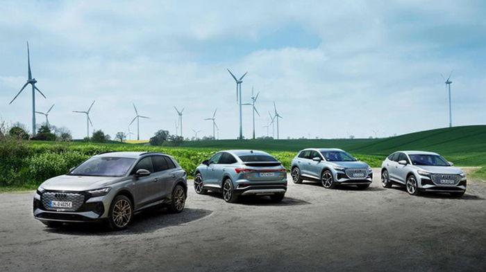 Audi будет выпускать только электромобили