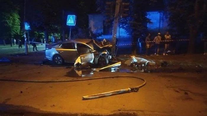 В Черкассах в ДТП погибли три человека (фото)