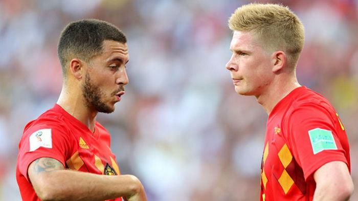Тренер сборной Бельгии рассказал о травмах Де Брюйне и Азара