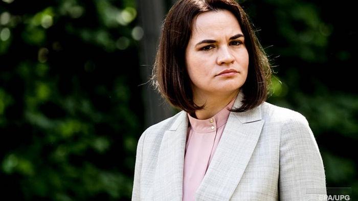 Тихановская назвала темы переговоров с властями США
