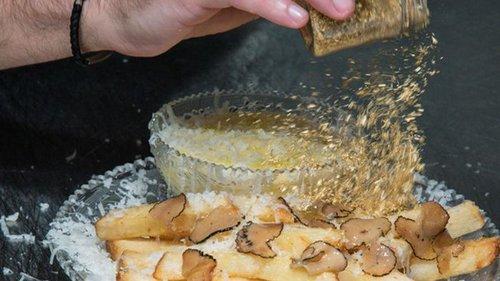 В США приготовили самую дорогую картошку-фри (видео)