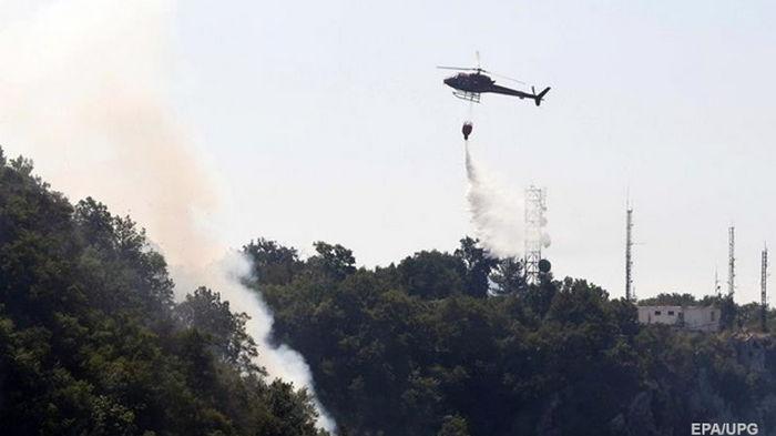 В Албании бушуют лесные пожары: страна ждет помощи из-за границы