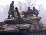 Появилось видео, как боевиков обстреляла украинская артиллерия